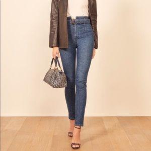 Reformation Kayo High & Skinny Jean